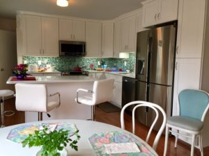 """Clean and organized kitchen. """"Home organizing is a process."""""""